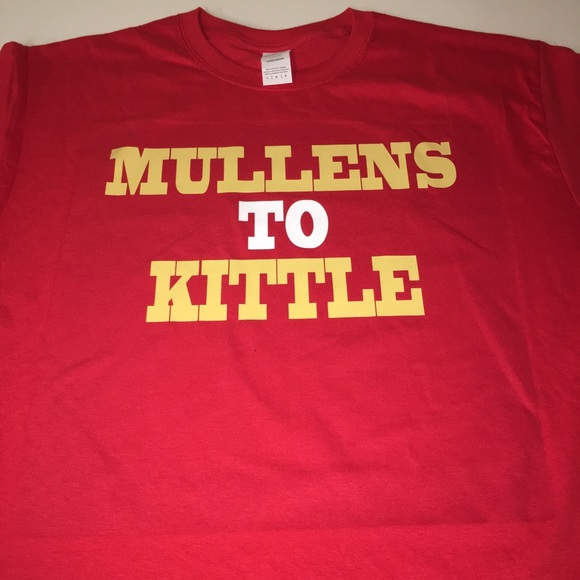online retailer 6439b e5b42 San Francisco 49ers Mullens To Kittle Shirt NWT